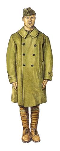 Soldado, personal de Mensajería, 1918.