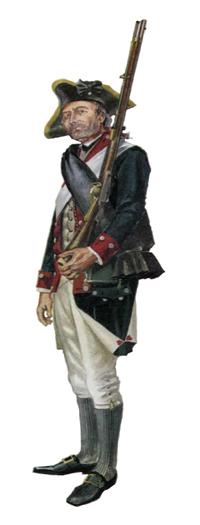 Soldado, Regimiento del Estado de Pennsylvania, 1778.