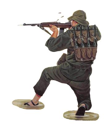 Soldado Vietcong, 1968.