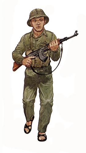 Soldado Vietcong, 1973.
