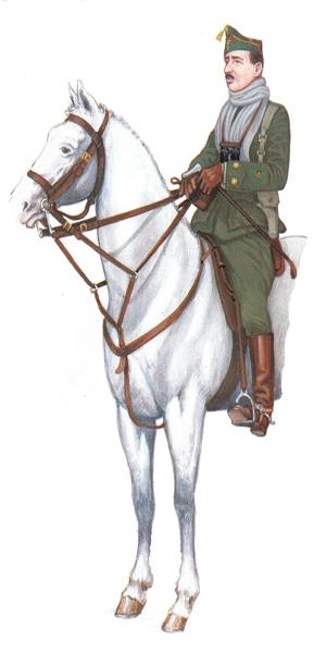 Teniente Coronel, Francisco Franco, Mayo de 1924.