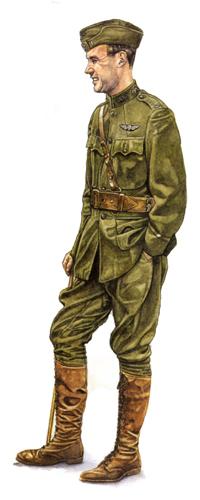 Teniente, Servicio Aéreo de la Armada, 1918.