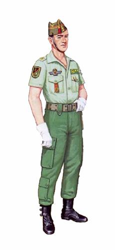 Teniente, Unidad de Operaciones Especiales, 1984.