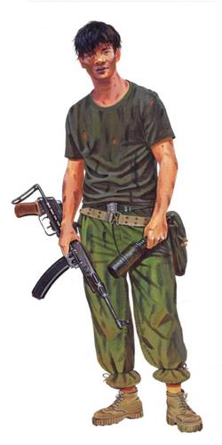 Zapador Vietcong, 1969.