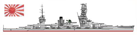 Acorazado FUSO, Armada Imperial Japonesa, 1944.