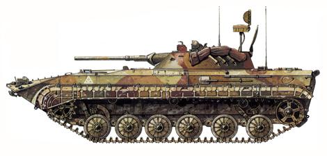 BRM-1K, Vehículo de reconocimiento, distrito militar del Caucaso, operación Kavkaz-85, 1985.