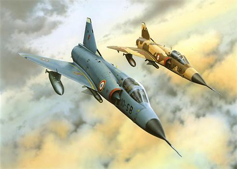 Dassault Mirage III C,  Armée de l'Air, 1971.