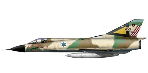 Dassault Mirage III CJ, 117º Escuadrón, Fuerzas de Defensa de Israel, 1973..