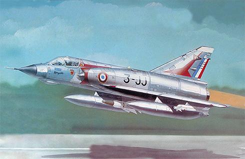 Dassault Mirage III E, Armée de l'Air, 3er. Escadre de Chasse, Dijon-Longvic, 1969.