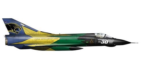 Dassault Mirage III EBR, Fuerza Aérea Brasileira, Base Aérea de Anápolis, 2003.