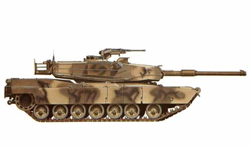 M1 Abrams, 1-12 de Caballería en Fort Knox, 1-12 entrena a los futuros oficiales en la guerra de tanques, 1986.
