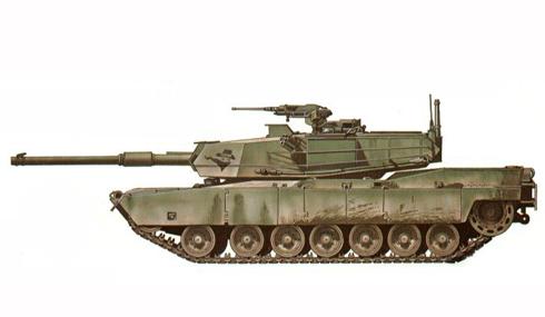 M1 Abrams, 1-64 de Caballería 'The Bandits', 3ª División de Infantería Mecanizada.