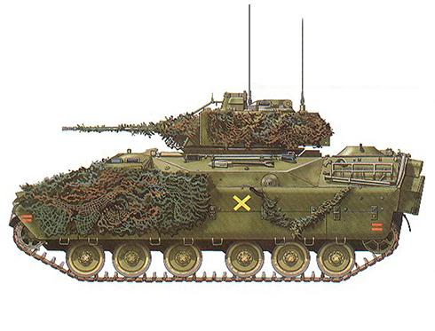 M2 Bradley, 2ª División Acorazada. 1-41ª de Infantería, 1987.