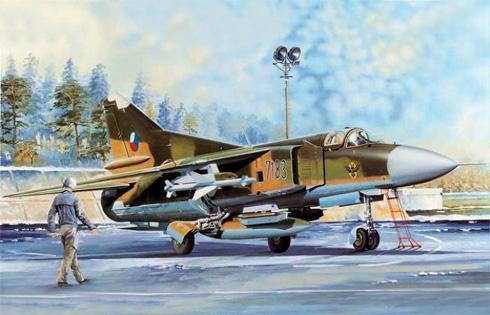 MiG-23MF Flogger B, Fuerza Aérea de la Rep. Checa, 1992.