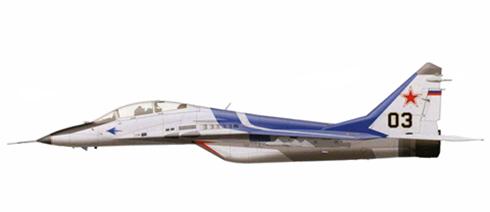 MIG-29 Fulcrum UB, Prototipo de demostración, Planta de Sokoi, Niznhiy Novgorod.