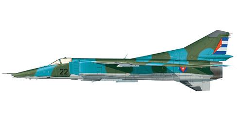 Mikoyan Gurevich Mig-23 BN Flogger H, Defensa Anti Aérea de las Fuerzas Armadas Revolucionarias de Cuba 'DAAFAR'