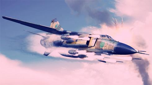 Mikoyan-Gurevich MIG-23 Flogger, Fuerza aérea de Líbia.