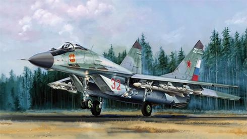 Mikoyan-Gurevich MIG-29 Fulcrum B, Fuerza Aérea Rusa.
