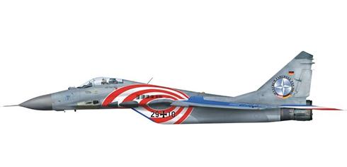 Mikoyan Gurevich Mig-29 G Fulcrum, 73º Escuadrón, Luftwaffe, Base Aérea de Laage, 2003.
