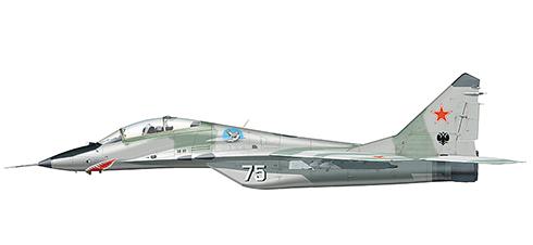 Mikoyan Mig-23 UB Fulcrum, Fuerza Aérea de Rusia, Base Aérea de Domna, Siberia,1999.