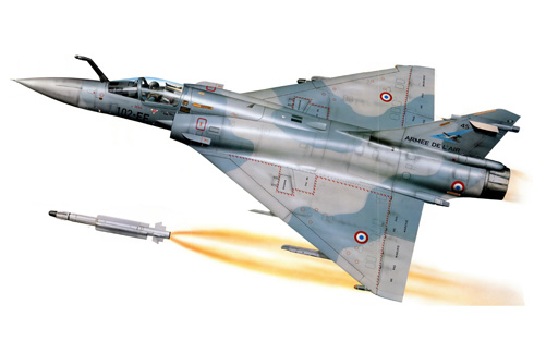 Dassault Mirage 2000 5F, Armee de L'Air.