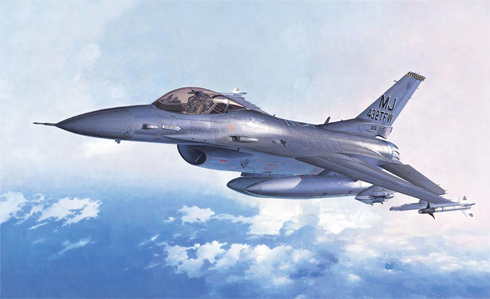 F-16A Plus C Fighting Falcon, Fuerza Aérea de Estados Unidos.