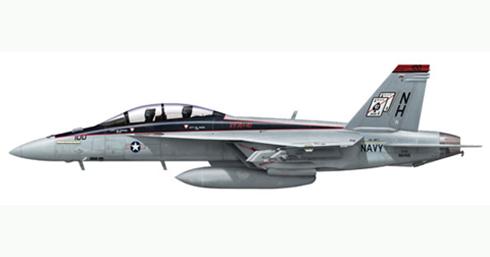 FA-18 F Super Hornet, VFA-41 Black Aces, USS Nimitz.