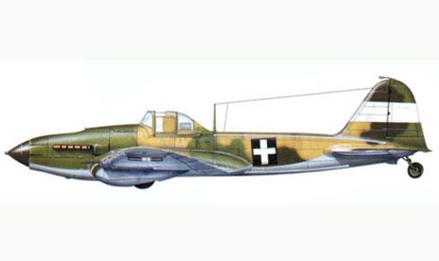 Il-2 de la Real Fuerza Aérea Hungara, avión capturado por las Fuerzas Hungaras.