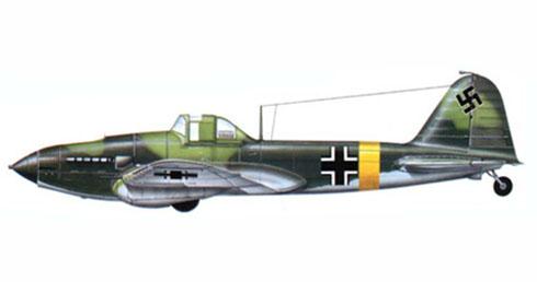 Ilyushin Il-2 capturado por la Luftwaffe, fué pintado con marcas de la Luftwaffe y operativo en el Frente del Este.