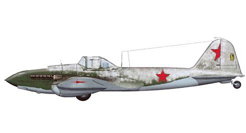 Ilyushin Il-2 Shturmovik, 226º Escuadrón, Frente de Estalingrado, invierno de 1942-1943.