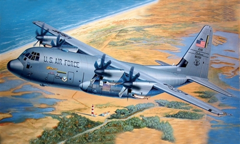 Lockheed C-130 J Hercules II, U.S. Air Force.