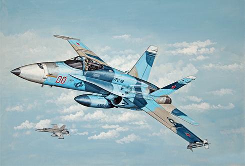 McDonnell-Douglas F-A-18 C Hornet, Escuadrón de agresores (VFC-12), NAS Oceana.