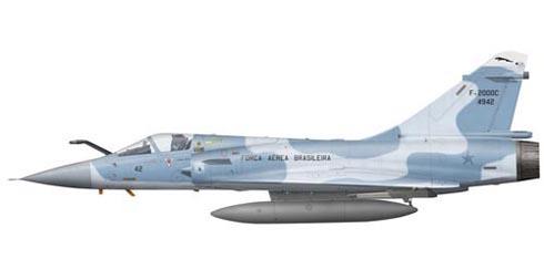 Mirage 2000 C, 1º G.D.A., Força Aérea Brasileira, Anapolis.