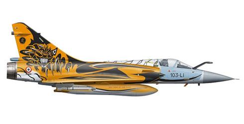 Mirage 2000 C, Armée de l'Air, NATO Tiger Meet, 2010.
