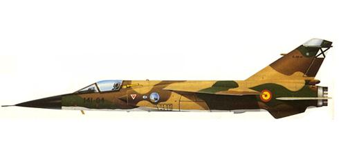 Mirage F-1 CE, Ala 14 de Combate, Base Aérea de Los Llanos, Fuerza Aérea Española, 1983.