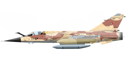 Mirage F-1 CR, ER 1/33, Armee de l'Air, 2003.