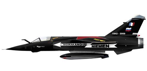 Mirage F-1 CT, Escuadrón de Combate 02-030 'Normandie Niemen', Colmar, 2009.
