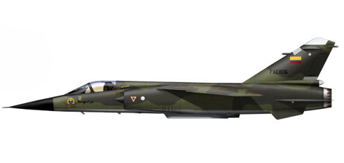 Mirage F-1 JA, Fuerza Aérea Ecuatoriana.