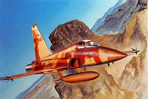 Northrop F-5 E, Escuadrón Agressors, Fuerza Aérea de los Estados Unidos.