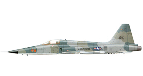 Northrop F-5 E, Escuadrón ''Agressors'', U.S. Air Force.