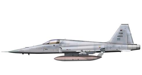 Northrop F-5 E, Fuerza Aérea de Honduras.