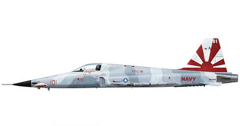 Northrop F-5 E Tiger II del VFC-111 Sundowners, Fuerza Aérea de los Estados Unidos.