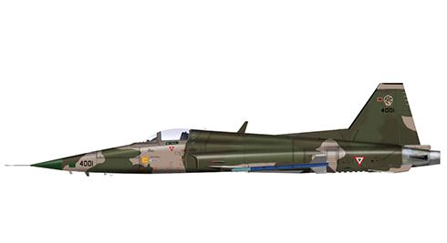 Northrop F-5 E Tiger II, Fuerza Aérea de México, 1990.