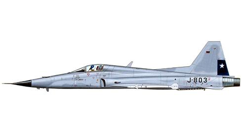 Northrop F-5 E Tiger II, Grupo 7, Fuerza Aérea de Chile.