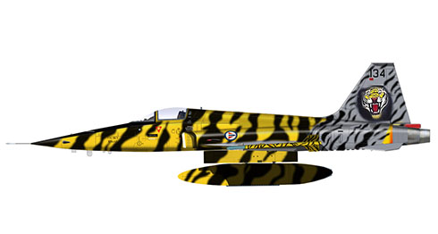 Northrop F-5 E Tiger, Real Fuerza Aérea de Noruega.