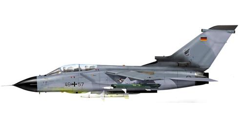 Panavia Tornado ECR, JaboG 32, Luftwaffe, 2004.