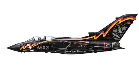 Panavia Tornado IDS 'Black Thunder', JaboG 31, Luftwaffe.
