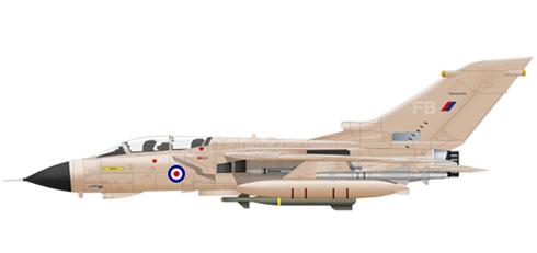Tornado GR.MK.1, 17º Escuadrón, Guerra del Golfo, RAF.