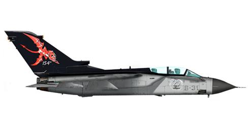 Tornado IDS, 156 Gruppo, 36 Stormo, Italian Air Force.
