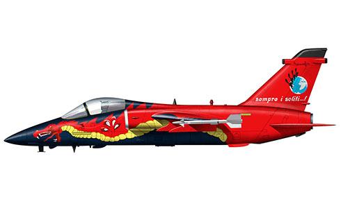 AMX, 51º Stormo, 132º Gruppo CBR, Aeronautica Militare Italiana, Treviso, 2001.